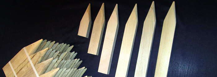 Stakes and Lath